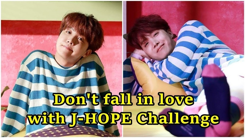 Dont fall in love with J-HOPE (정호석 BTS) Challenge