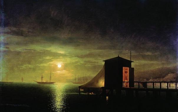 Лунная ночь на картинах Ивана Айвазовского