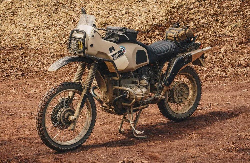 Wheelborne: кастом BMW R100GS