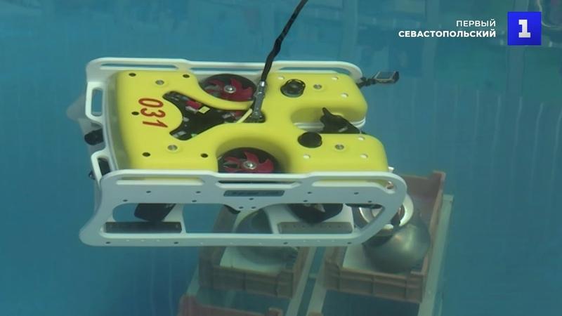 Чемпионат по пилотированию подводными аппаратами в Севастополе