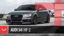 Vossen Hybrid Forged HF-2 Wheel | Audi B8 S4 | Tinted Matte Gunmetal