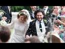 Rose Leslie & Kit Harington's Wedding   Video Compilation