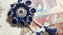 Цветы из лент Чем заменить крышку под эпоксидку МК Flowers from ribbons Flores de cintas