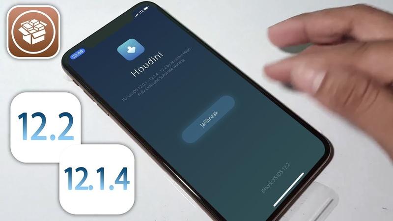 IOS 12 1 4 12 2 Jailbreak Updated Houdini b4 JB Tool Cydia Added More Fixes
