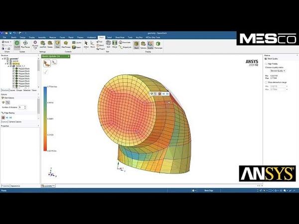 Meshing in ANSYS SpaceClaim - tworzenie siatki w ANSYS SCDM