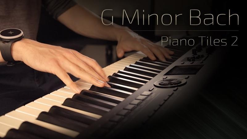 G Minor Bach - Piano Tiles 2 (Luo Ni) \\ Jacobs Piano