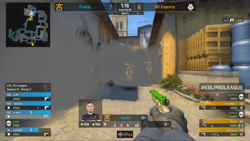 KennyS with a 3k vs fnatic