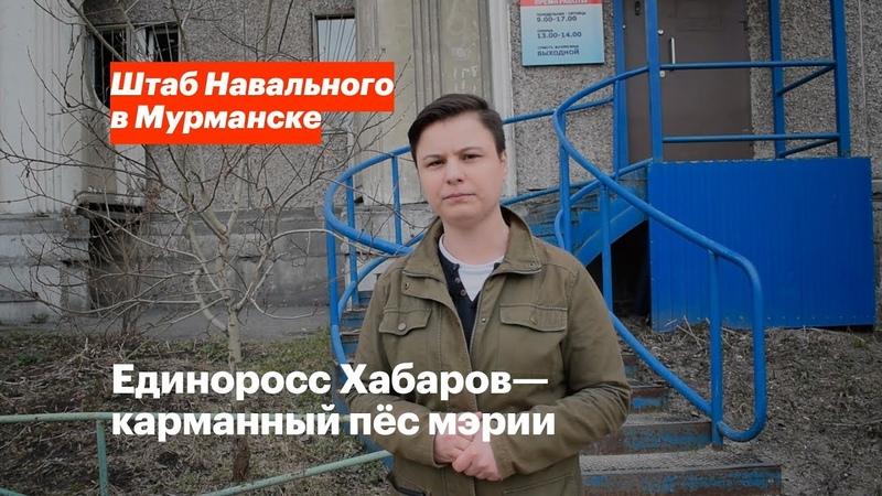 Единоросс Хабаров карманный пёс мэрии