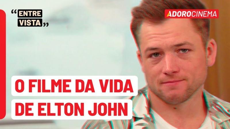 Rocketman: Taron Egerton revela fato inusitado sobre Elton John