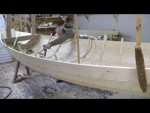 Amazing Techniques Smart Carpenters Extremely High Skills Building Wooden Boat Easy - Woodworking