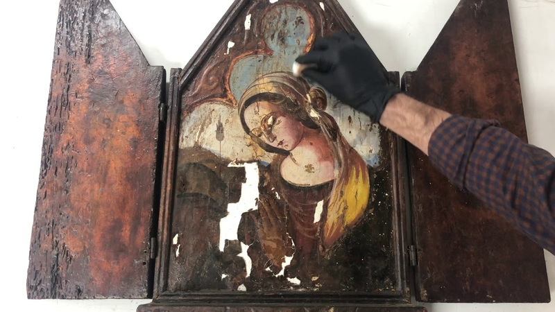 The Restoration of Ave Maria Ambient Sounds Version ASMR ish