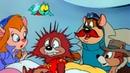 Чип и Дейл спешат на помощь - Серия 22, Последний поезд в Доннервиль Мультфильмы Disney