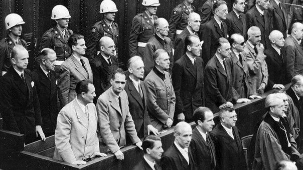 16 октября 1946 года по приговору Нюрнбергского трибунала казнены нацистские преступники