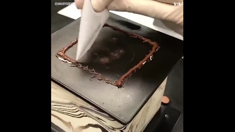 шоколадный архитектор из Лас Вегаса Амори Гишон