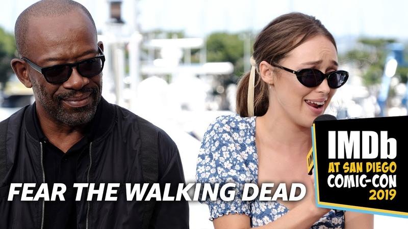 Fear the Walking Dead Cast Pick Their R.I.P. Scenes
