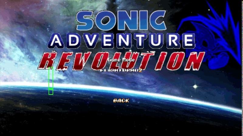 Sonic adventure revolution - Campaign Mode1.v11.9.9