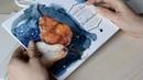 Обзор новых материалов для рисования от Малевич Склейка и кисти