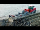 Deep ploughing Field Leveling CASE IH Quadtrac 450 STX 375 Gebr Bork diepploegen Plowing