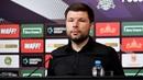 Пресс-конференция после матча «Краснодар» - «Зенит»