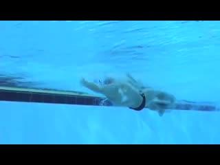 Техника плавания на спине старты, повороты и финиш