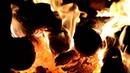 Жаркий огонь полыхает в камине ...