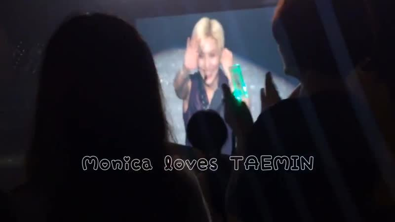 FANBOY закричал Taemin и сделал сердце своими руками Тэмин был так рад видеть человека 05 07 2019 TAEMIN X TM Hiroshima Day1