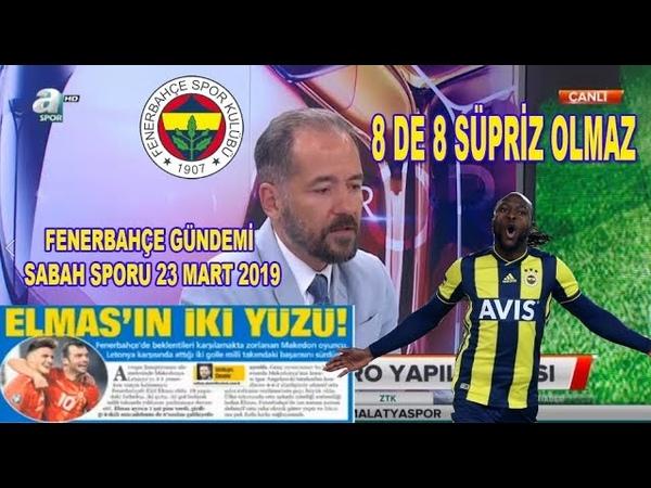 Fenerbahçe Spor Gündemi - Elif Elmas Şov Yaptı, Moses Sabah Sporu 2019