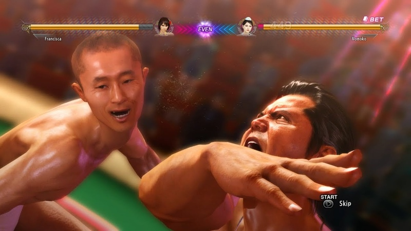 The other side of Japan Catfight Club Yakuza 0 model swap