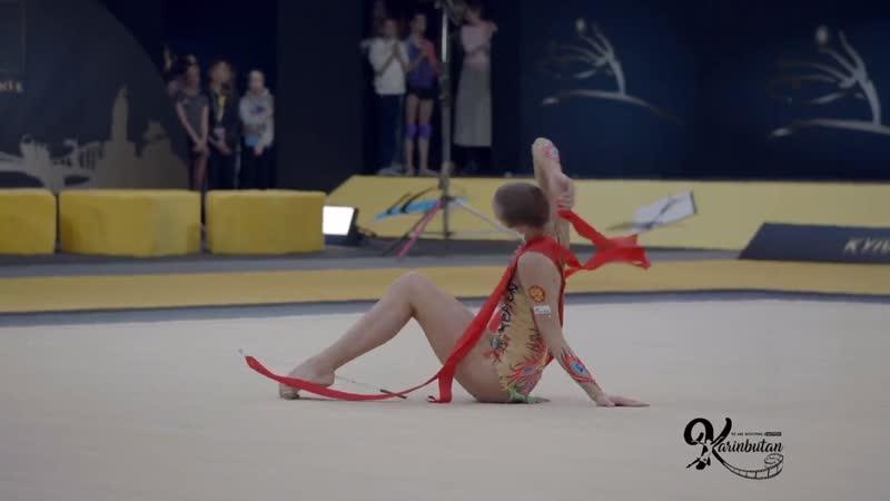 Мария Сергеева - лента (многоборье) Deriugina Cup 2019
