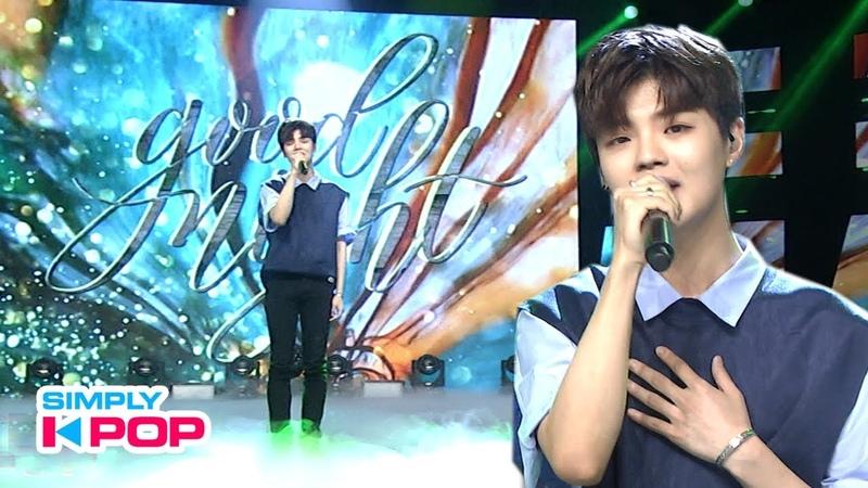 [Simply K-Pop] JI JIN SEOK(지진석) _ Good Night _ Ep.371 _ 071819