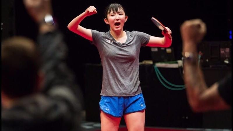 Hina Hayata 早田ひな vs Wang Manyu
