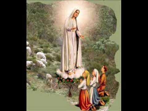 Santo Rosario con letanías a Nuestra Señora de Fátima. Mayo 13.