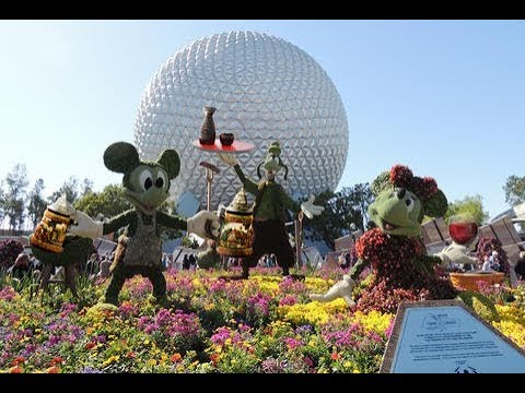 EPCOT 2019 Tour and Overview Walt Disney World Detailed Park Tour EPCOT world showcase 4