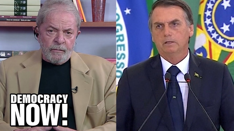 Secret Files Show How Brazil's Elites Jailed Former President Lula and Cleared the Way for Bolsonaro
