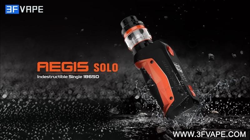 GeekVape Aegis Solo 100W TC Mod