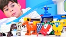 Harika kanatlar Çocuk videoları Jet çiftliğe düşüyor Çizgi film oyuncakları
