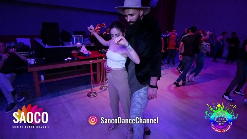 Dez Salsero and Seda Atalay Salsa Dancing at Istanbul Social Dance Marathon 2019, Sat 02.02.2019