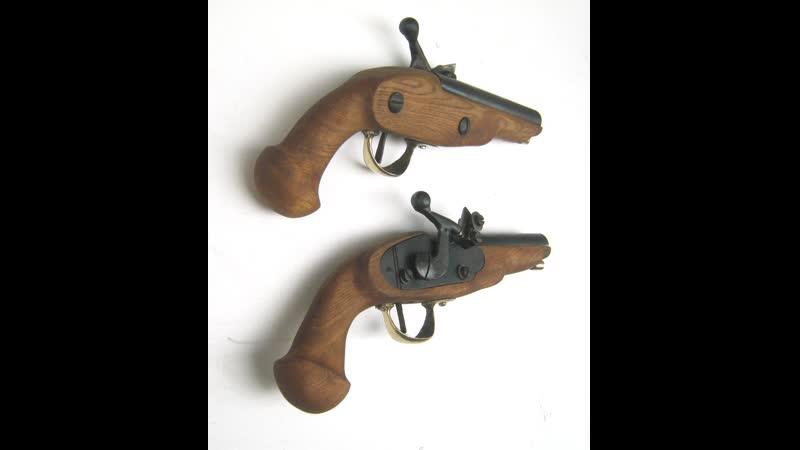 пара игровых бутафорских пистолетов Vergeltung.