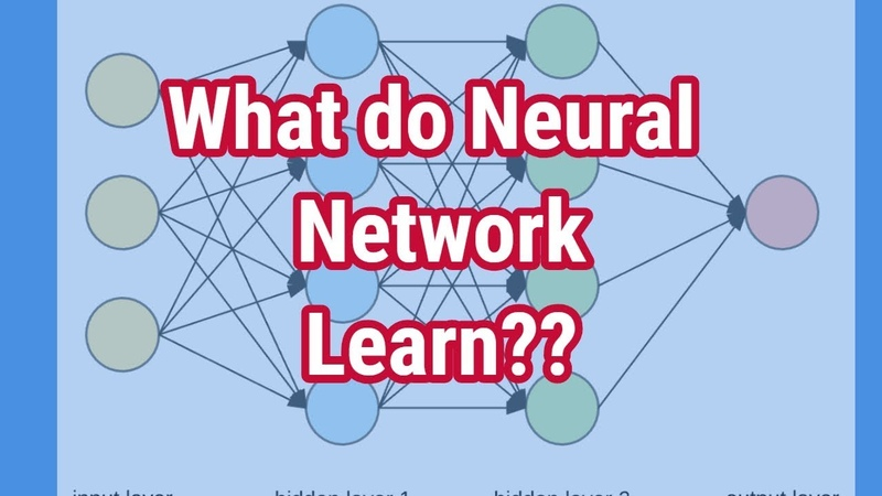 Machine Learning Tutorial - What do neural networks learn ?