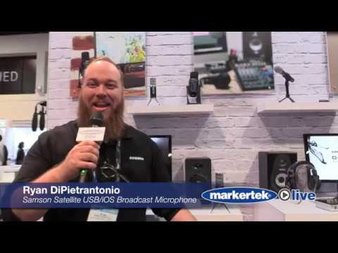Samson Satellite USBiOS Broadcast Microphone