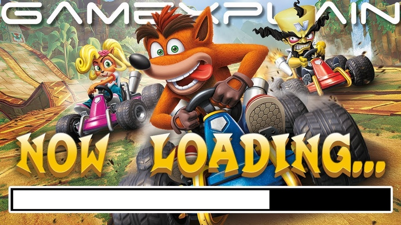 Crash Team Racing Gets A Loading Speed Boost! Time Difference Compared (Switch Update Ver. 1.0.5)