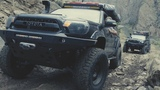 Toyota Tacomas Climbing Morrison Jeep Trail in Wyoming w Optima Batteries  4K Video by Red Olive