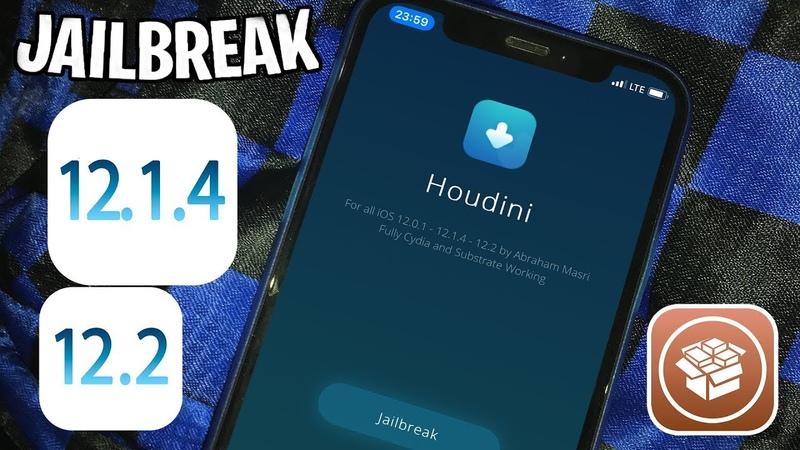 How to Jailbreak iOS 12.1.4 - 12.2 UPD! NEW Houdini b4 Tool Cydia!