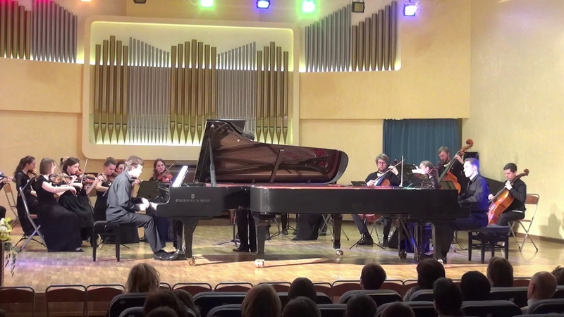 04/16/2009 V. Malinin T. Vladimirov in the concert Bach's Clavier works, the House of composers