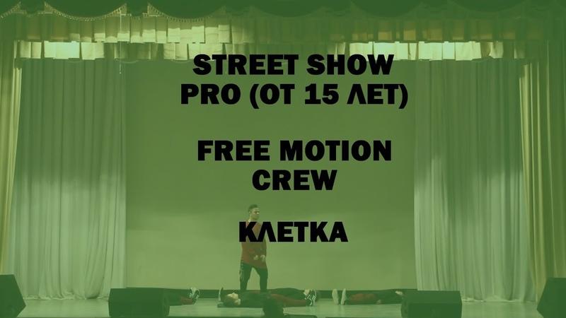 Free Motion Crew Клетка Street Show Pro (от 15 лет) Кактус 2019
