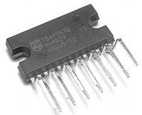 Контроллер сенсорной клавиатуры: Мультимедиа преобразователь TDA8560Q/N1.112.
