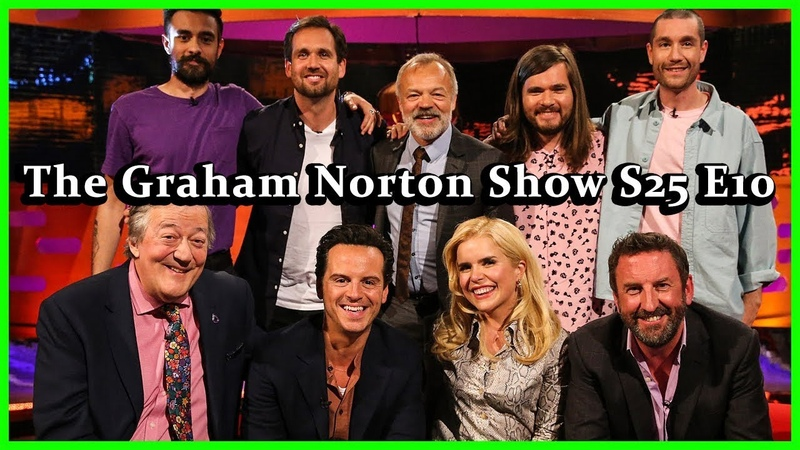 The Graham Norton Show S25 E10 Andrew Scott, Stephen Fry, Paloma Faith, Lee Mack and Bastille HD