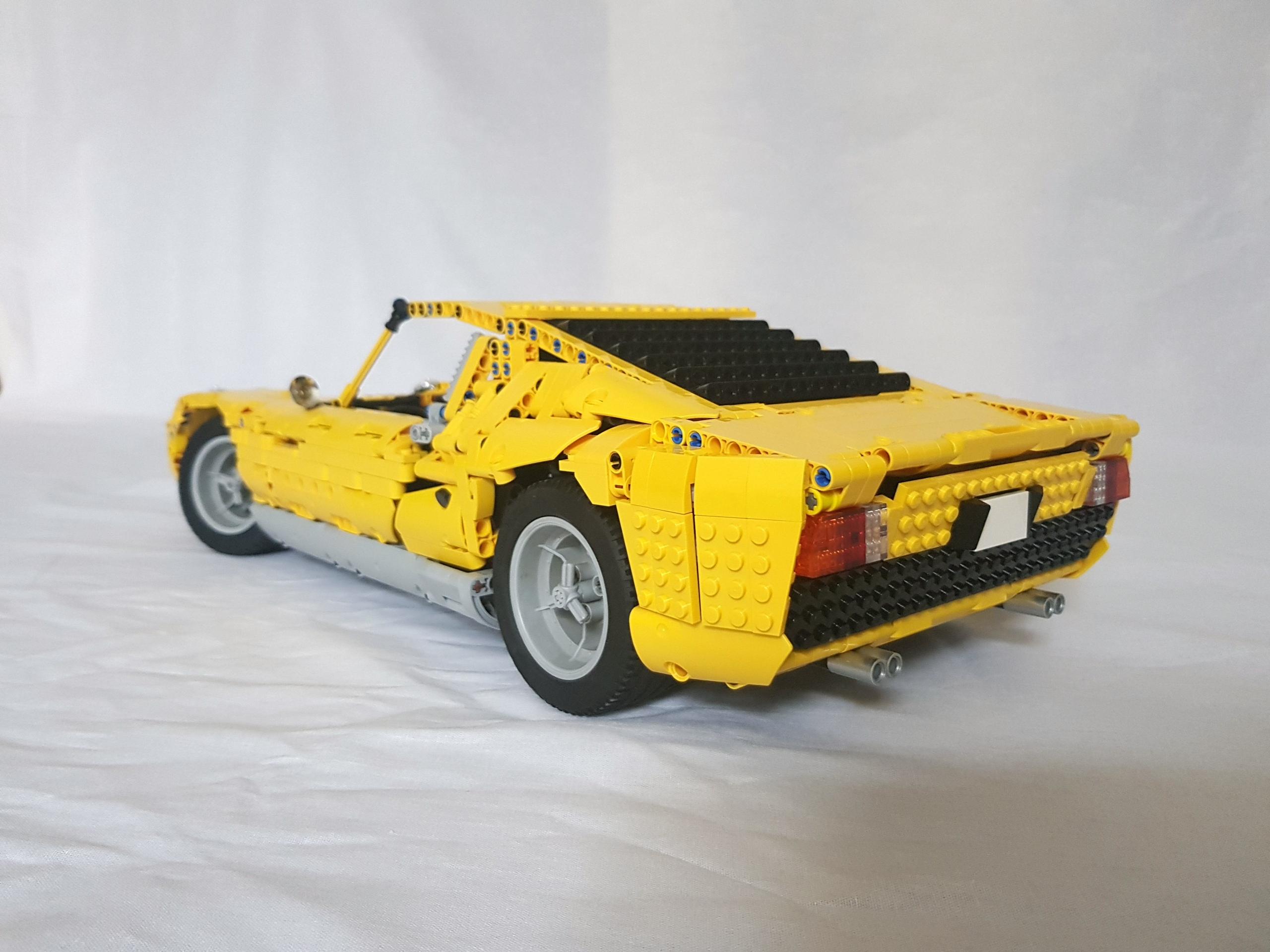 Lego Moc 24294 Lamborghini Miura Technic Model 2019