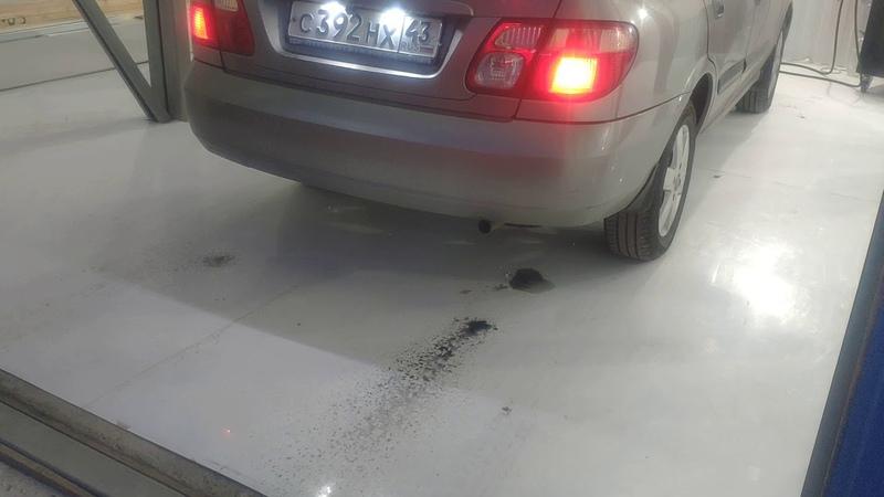 Водородная очистка двигателя в СПб Ниссан Альмера завершение