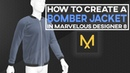 Marvelous Designer 8 How To Create A Bomber Jacket